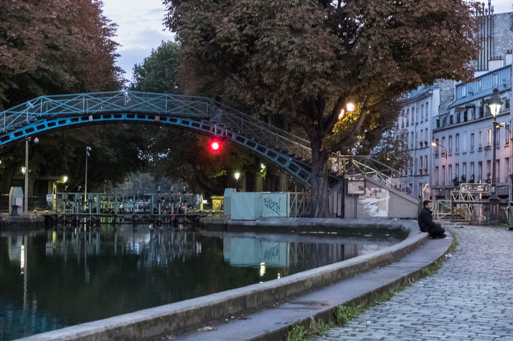 Canal st. Martin in Paris