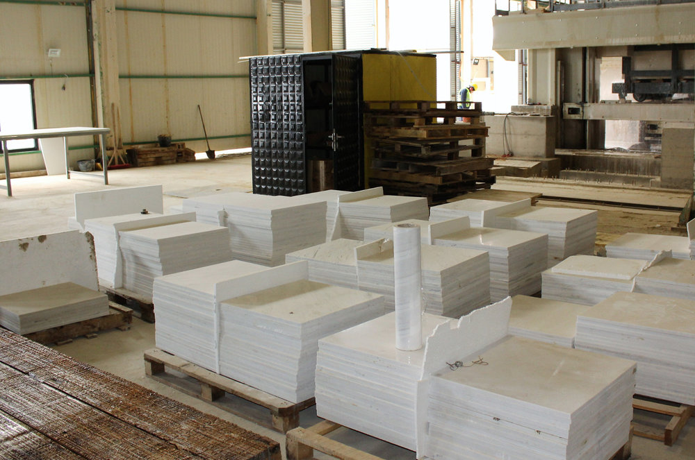 Alexandrian White Tiles for Export