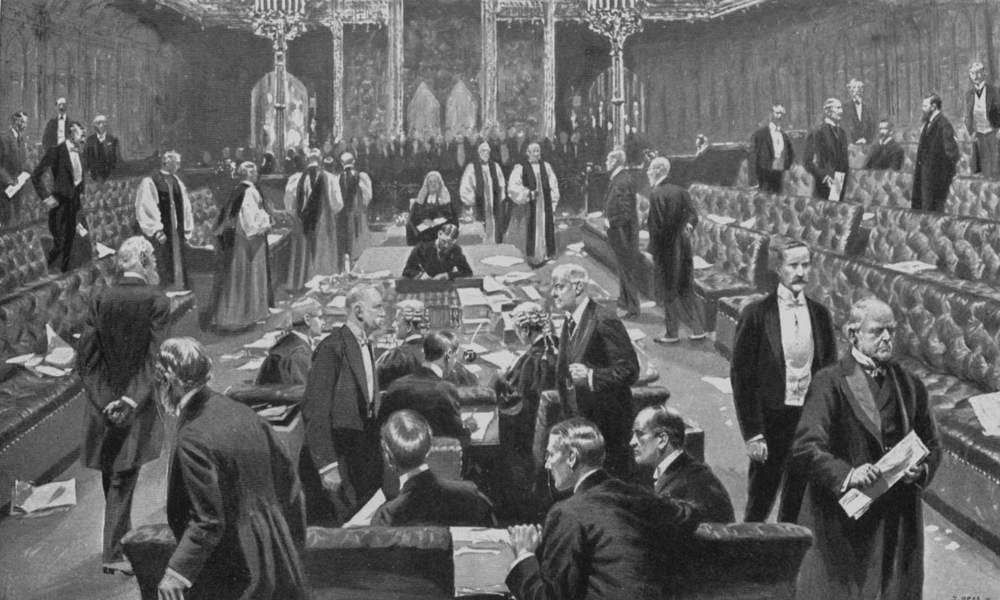 Samuel Begg, Passing of the Parliament Bill 1911, Project Gutenberg