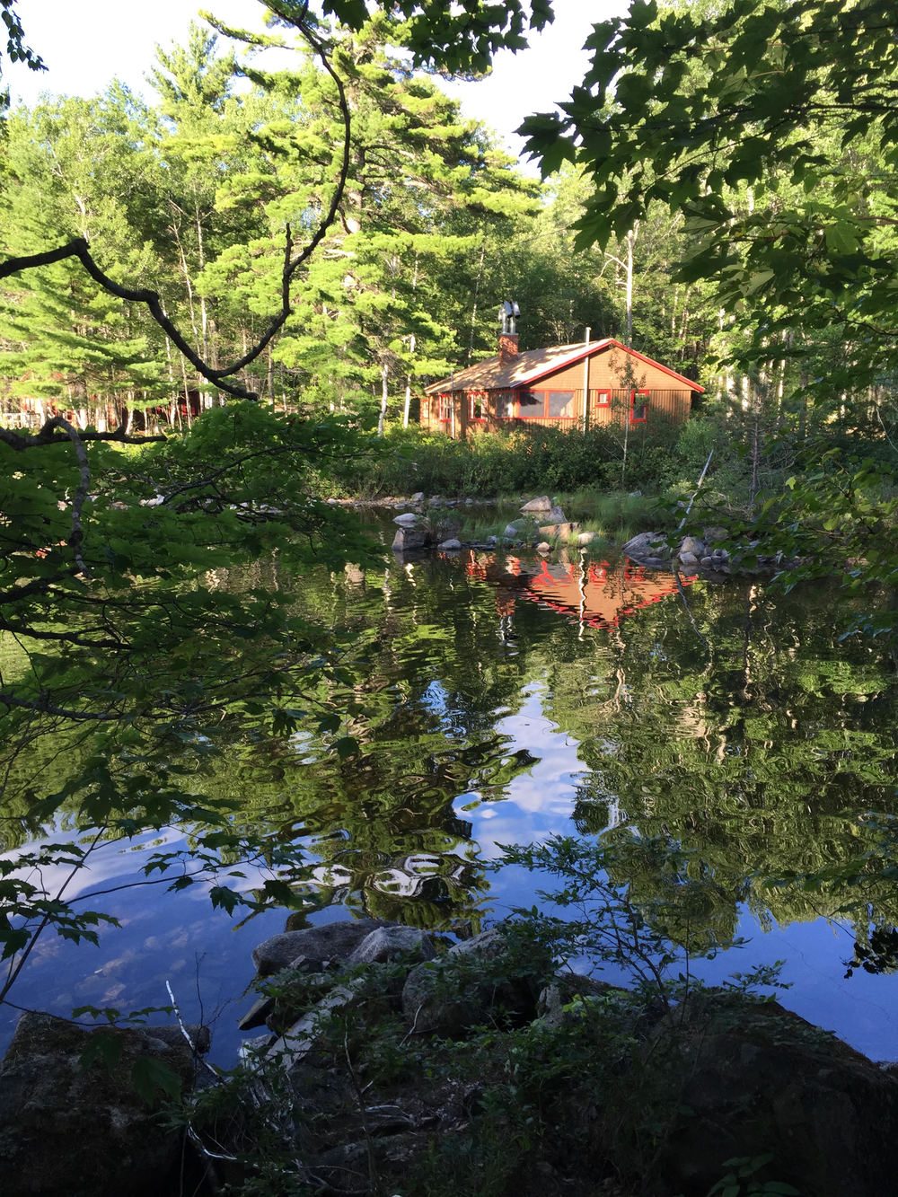 Leen's Lodge, Grand Lake Stream, Maine, USA