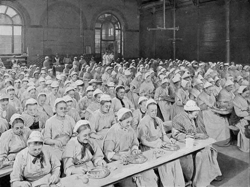 The standard diet at St Pancras workhouse. Image from https://en.wikipedia.org/wiki/Workhouse