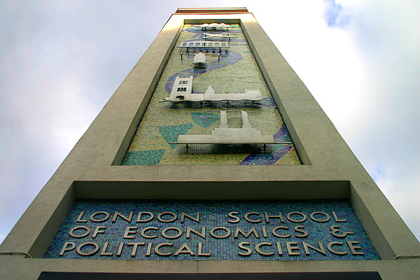 LSE: the St Clement's Building on the corner of Portugal Street and Clare Market. Photo taken by Jan Adriaenssens