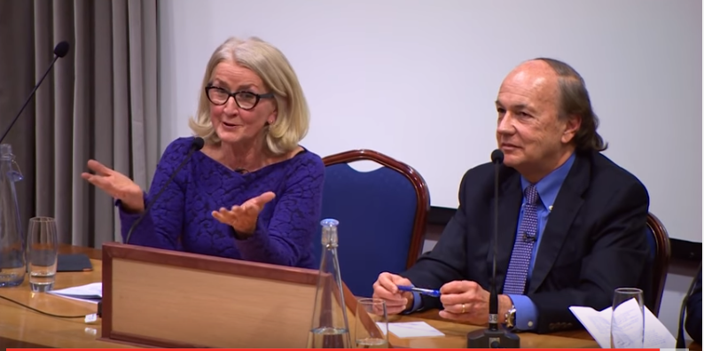 Ann Pettifor and Jim Rickards in debate in London