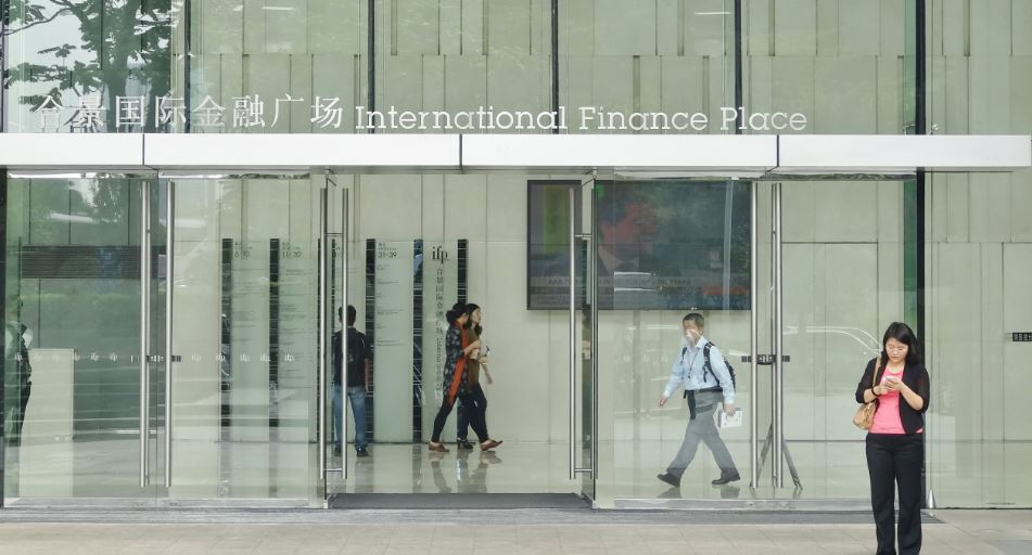 Photo, International Finance Place, Guangzhou, China, by Jeremy Smith