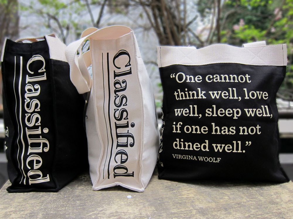 Press Room Group - Classified Canvas Bags - Design & Development