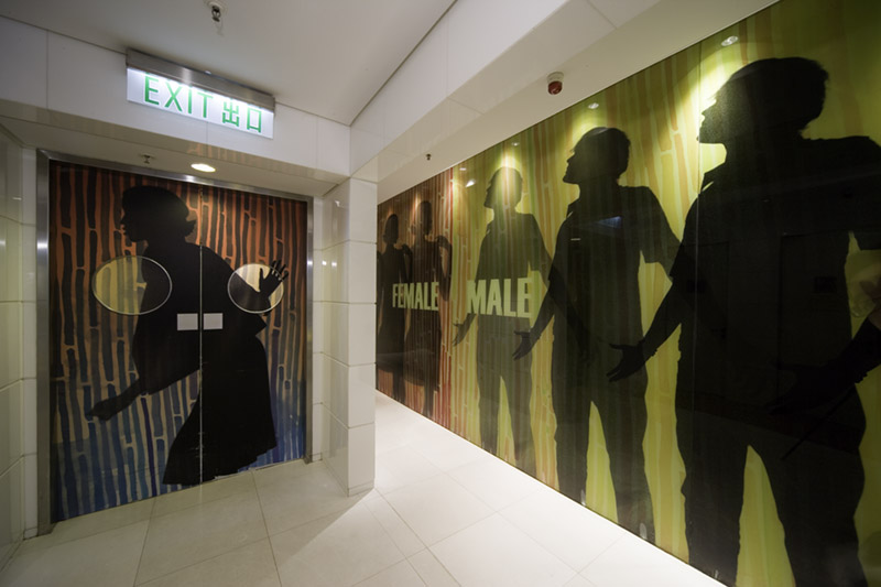 APM Shopping Centre Hong Kong by Benoy Architects - Interior Graphic Design