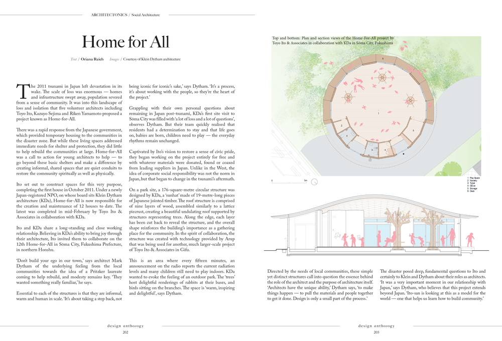 Article for Design Anthology Magazine, Issue 5