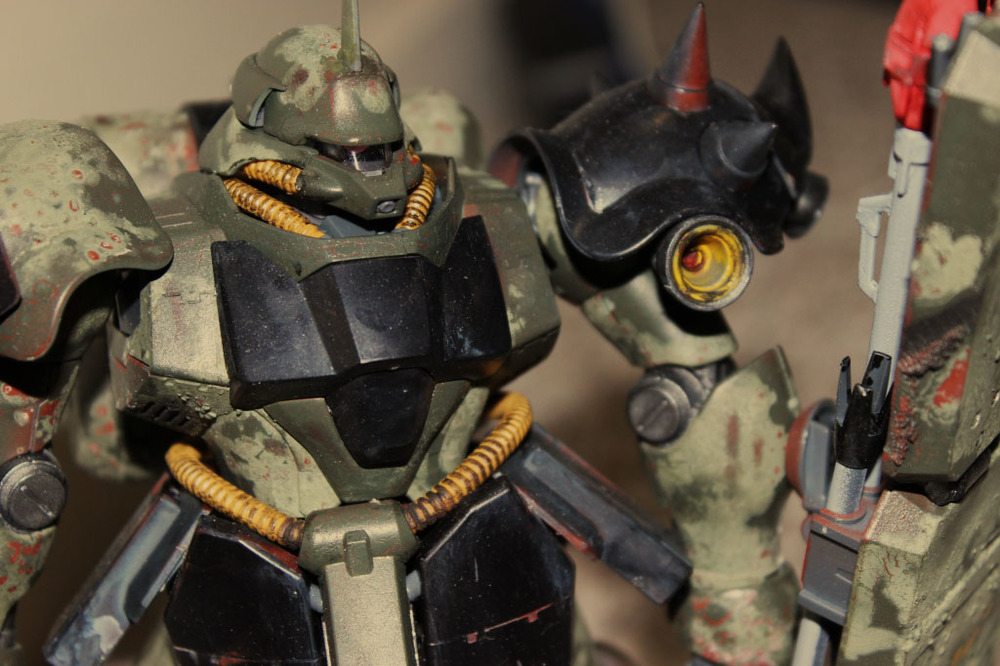 Geara Doga MG 1/100 1st Place Sci-Fi Ryder's (100+ entries)