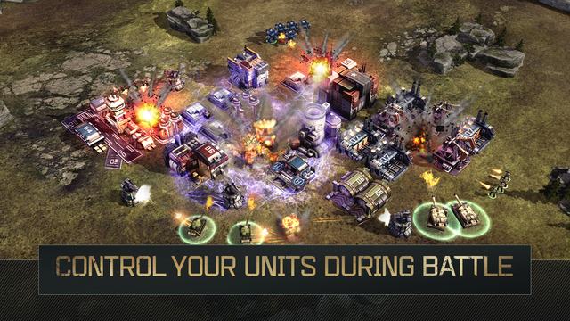 """Unlike its competitors like """"Clash of Clans"""", in WC:RA the player can control the individual units during a battle."""