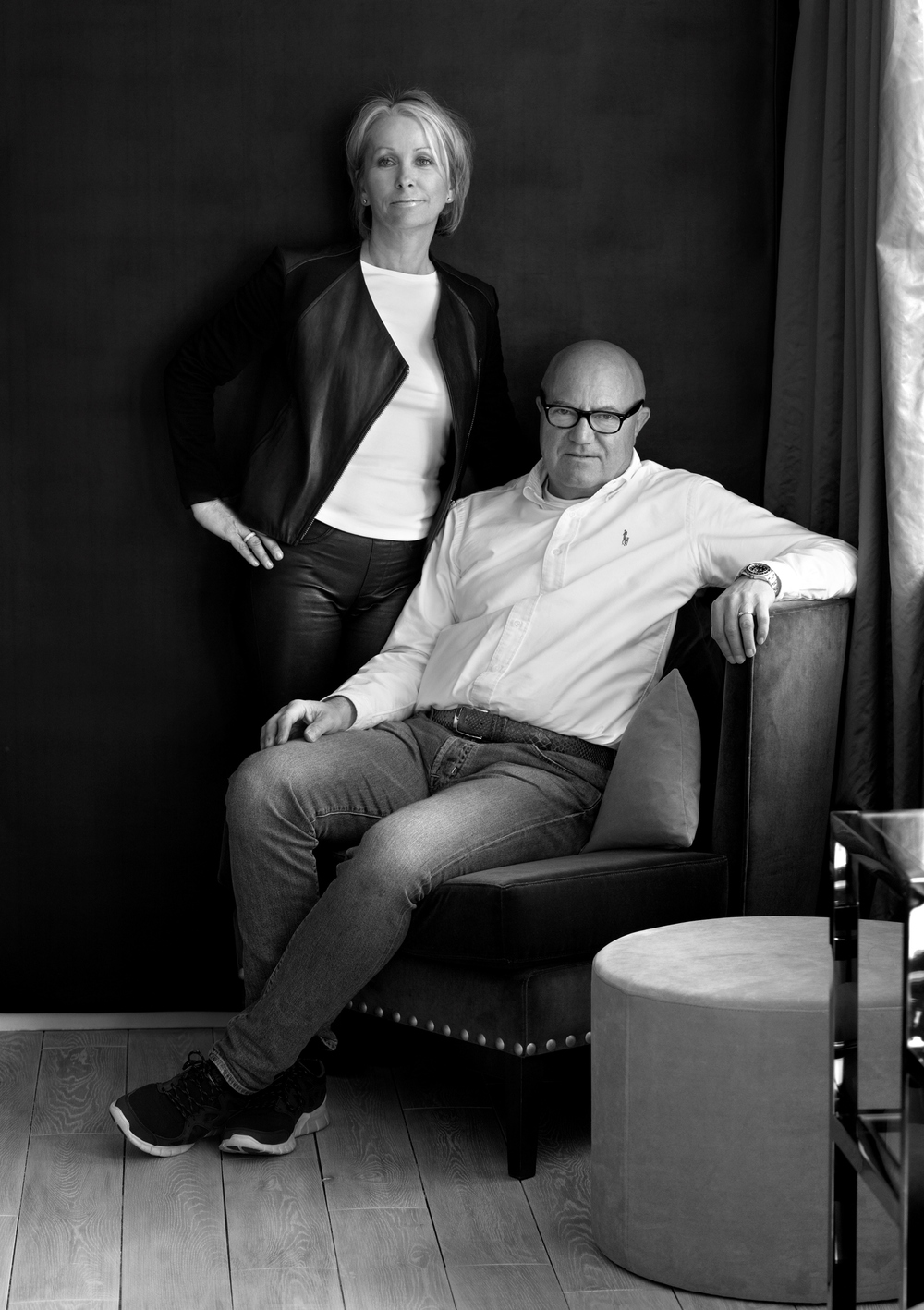 Elin og Geir Fossland
