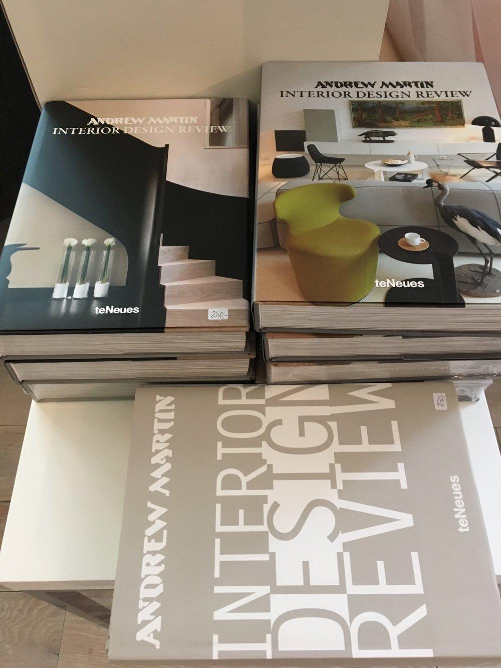 Div. interiørbøker - perfekt vertinnegave! 250kr