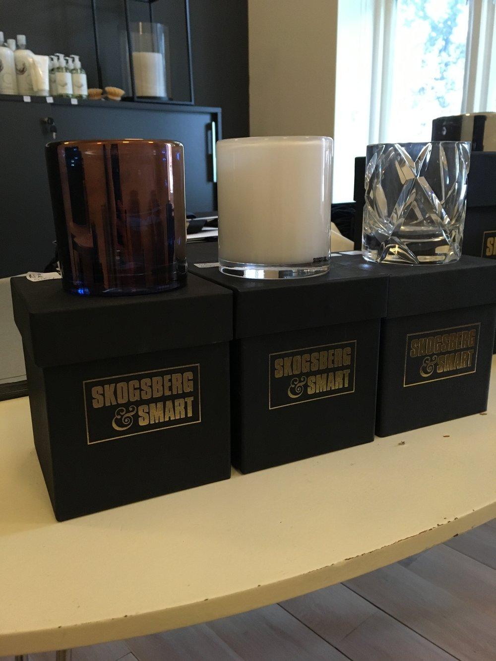 Skogsberg & Smart lykter - 500kr