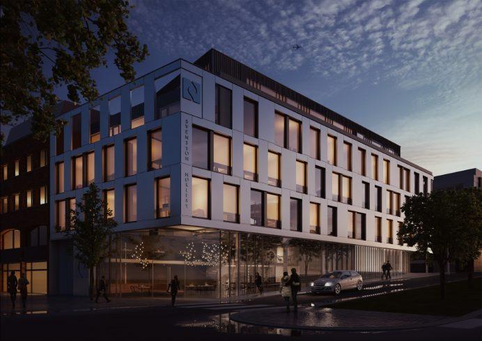 Illustrasjon av Arkitektkontoret Nils Tveit AS