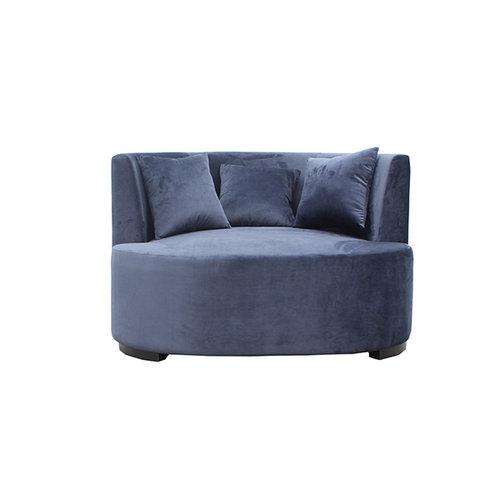 Mørkeblå daybed: 14.500 kr