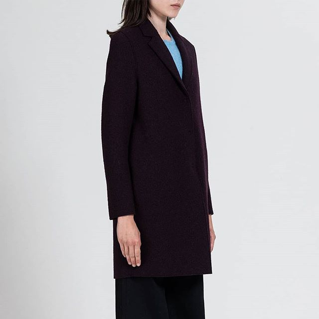 Lots of news from @harriswharflondon. High quality, classic coats for both sexes.