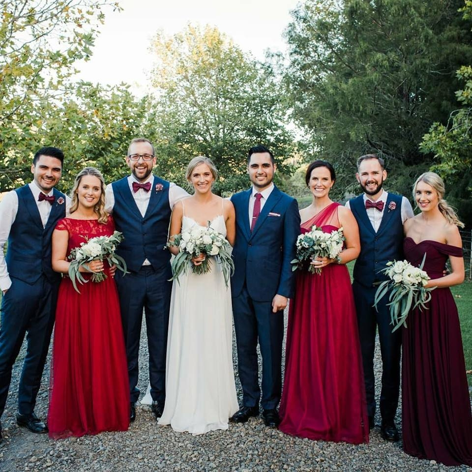 "- ""Thank you to Sophie and the team for your wonderful job on my wedding day. Myself, my mother & the Bridesmaids all loved our hair and make up! It lasted the whole day as promised and we had a really fun time with you both in the morning. Thank you for glam-ing us up! ""Alison dela Cruz"