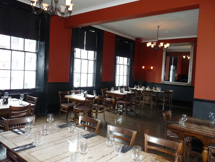 DINING & FUNCTION ROOM — The Lansdowne Pub & Dining Room
