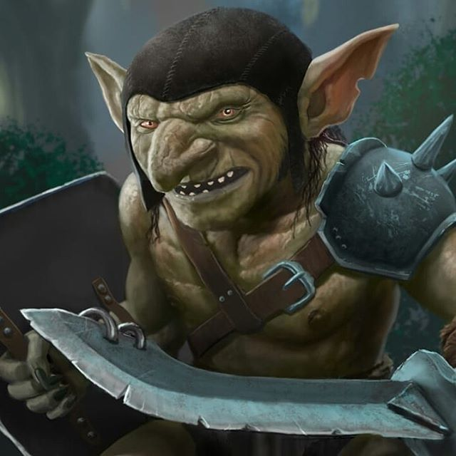 Goblin 5e close up... Coming soon. Dragon warchest is currently building a deck of monster cards for 5E. Follow the instagram or sign up to the mailing list at dragonwarchest.com if your keen on more info. #dnd #dungeonsanddragons #dungeonmaster #5e #goblin #monstermanual #rpg #neutralevil #playingcards #monsterdeck #dragons #monster #fantasy #art #fantasyart #wotc @dragonwarchest