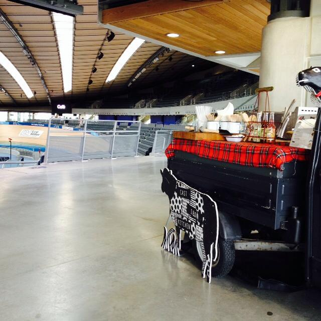 Lee valley velopark track day with cast iron kitchen