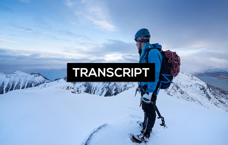 Verändere dein Leben | Transcript