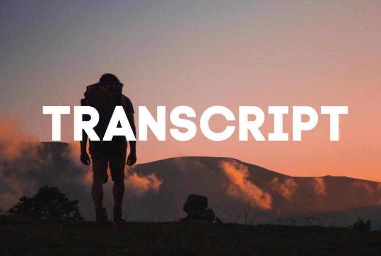 Was du wirklich sein kannst | Transcript