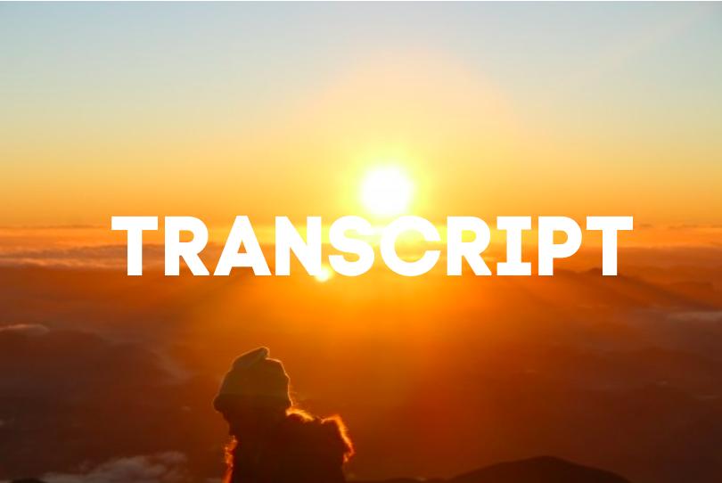 7 Skills um alles zu erreichen was du willst | Part 1 | TRANSCRIPT