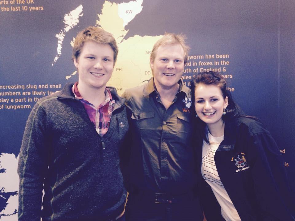 Meeting Worldwide Veterinary Service (WVS) founder and TV vet Luke Gamble at Crufts!