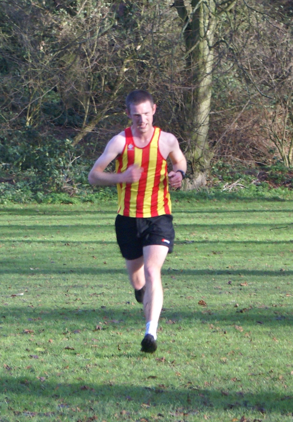 Dr Richardson in cross country action