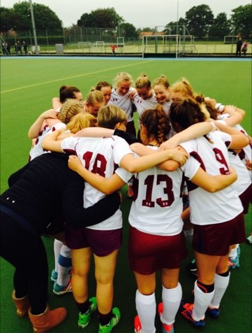 Norwich School Girls Hockey 1st XI 2016