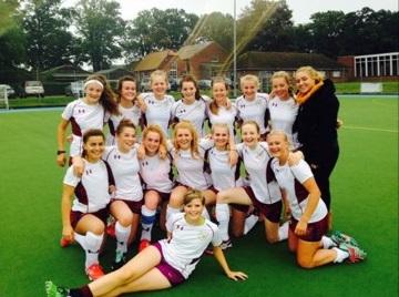 Norwich School Girls Hockey 1st XI 2016