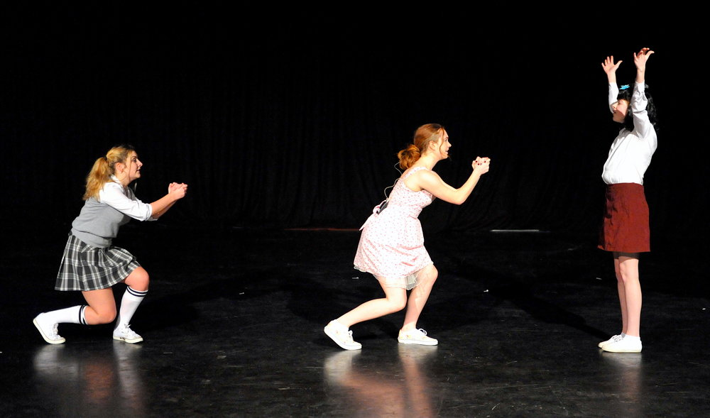 One of the many amazing dances on show from the Senior Dance Festival before Christmas