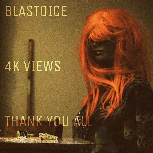BLASTOICE has reached four thousand views! Thank you for your overwhelming support!  Here's a head shot of one the stars of the video.  She's been missing presumed dead since the filming with the assumption heavily on dead.  #blastoice #homband #halfofmeband #newmusic #mannequin #musicvideo #thankyou #4k #pinkhairdontcare #blastoise #pokemon