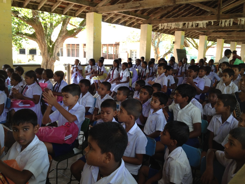 Die Spendenveranstaltung in Kurunagala 2013