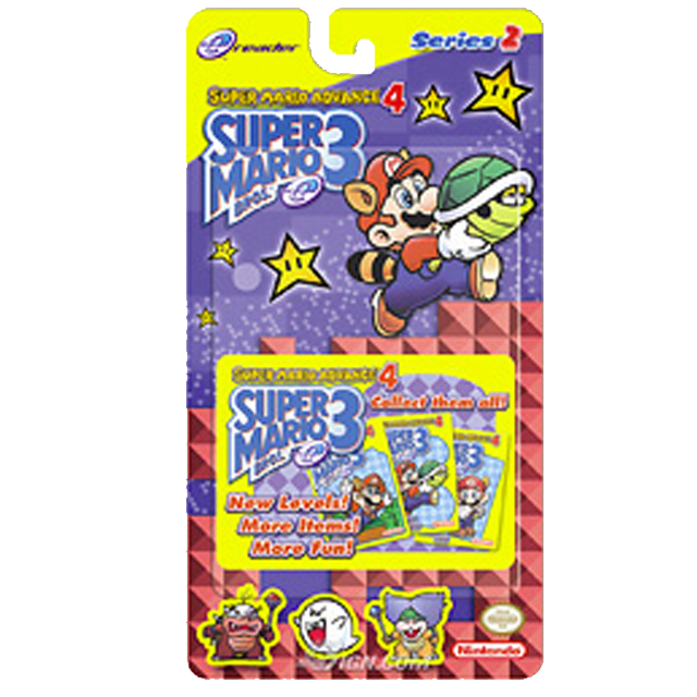 Super Mario Bros 3 eReader Cards