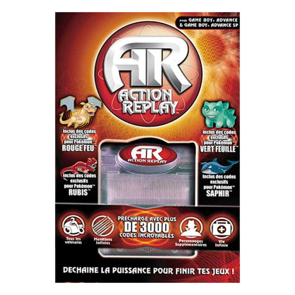 Action Replay Gameboy Advance