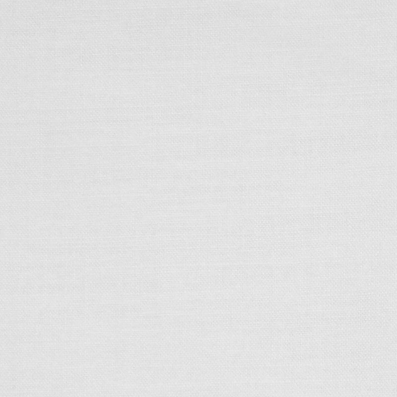 G34-01 LINEN/POLY BLEND White