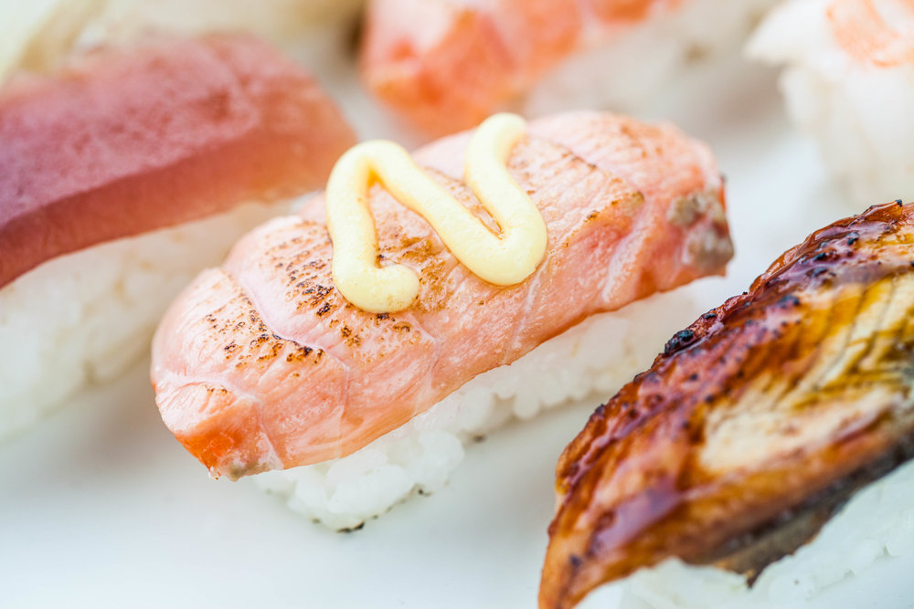 Aburi - sushi -komplekt