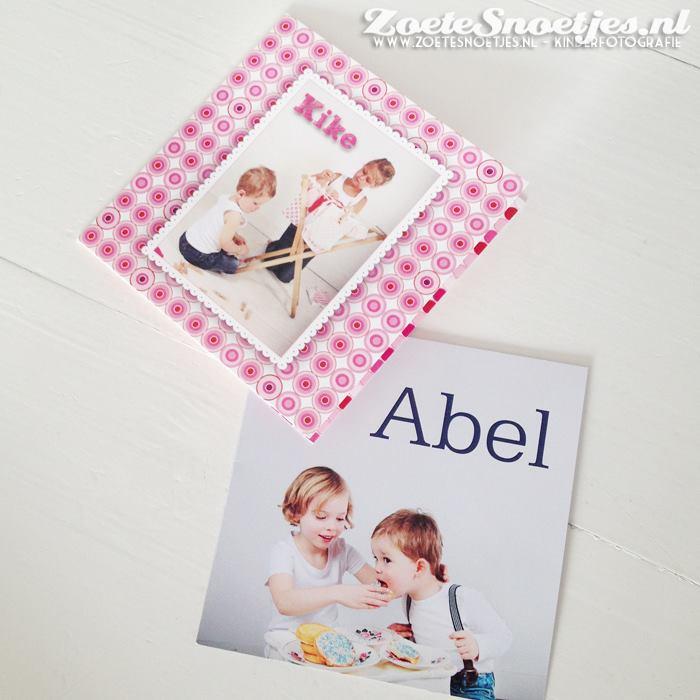 Foto's voor geboortekaartjes