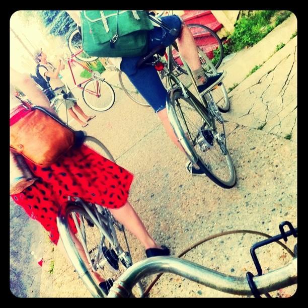 #bike #gang (Taken with instagram)