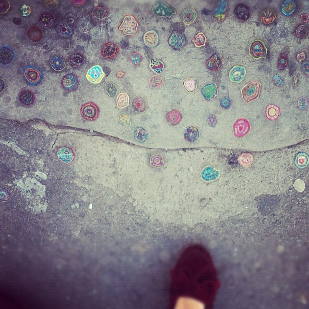 Gum art. #london (Taken with instagram)