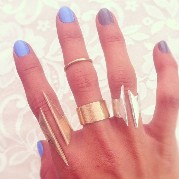New arrow rings today at Netil Market.  #shop #handmade #rings #WeAreArrow  (Taken with  Instagram  at Netil Market)