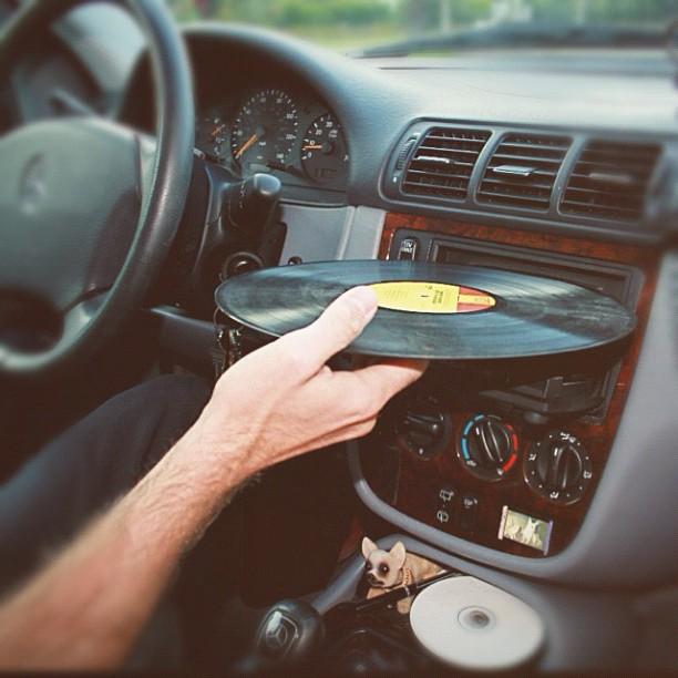 Ahhh the good ol days of car phones and good jams…. #throwbackthursday #vinyl @jasonboyd (Taken with Instagram)
