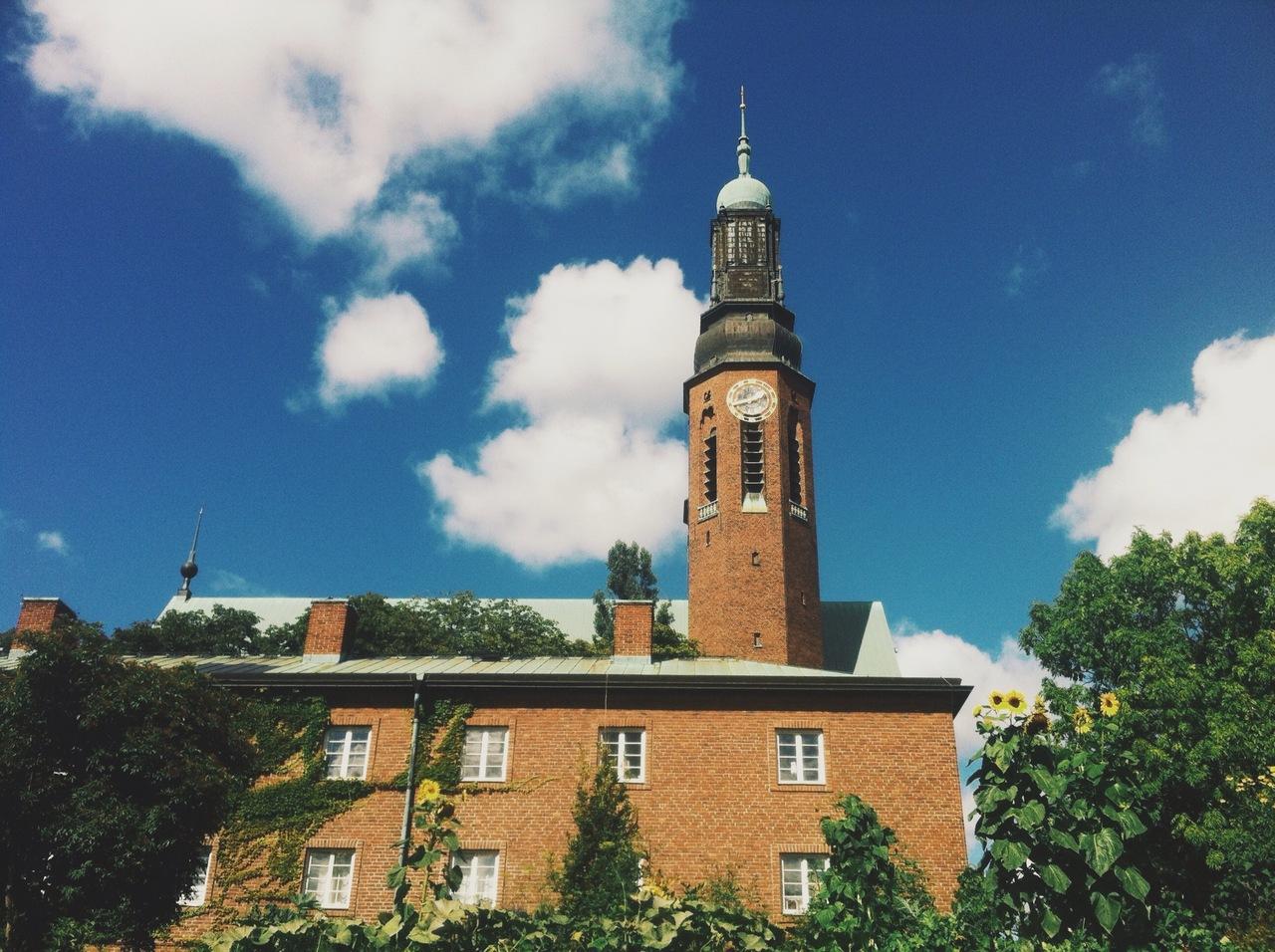 Church + FAT sunflowers inSödermalm.
