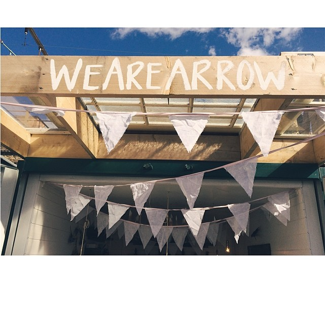 Dressing the shop up for her first birthday! #NetilMarket #WeAreArrow #WomenInMaking #London (at WeAreArrow Jewellery)