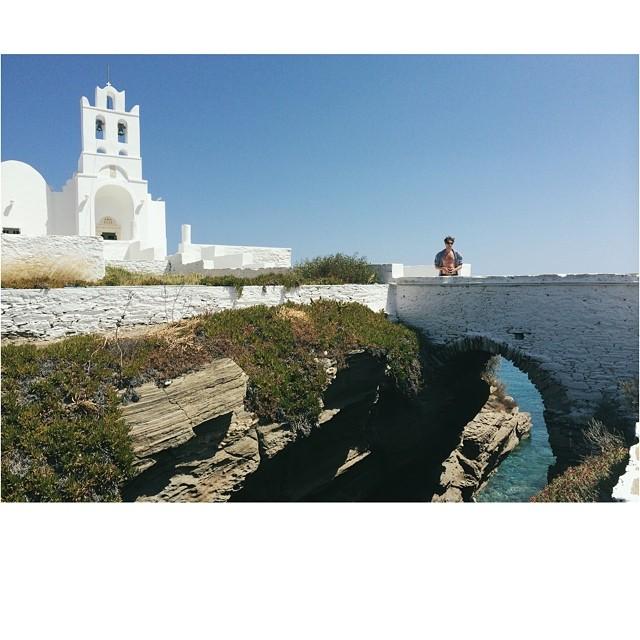 Trying to collect all 365 churches. Chrissopigi. #Sifnos #Greece #Chrissopigi #Island #Holiday