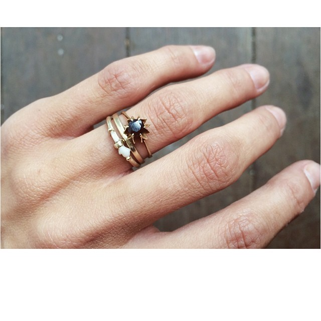 Keep a piece of my little Caramel Nugget with me always. Her CUTEST EVER tiny tooth that is shaped like a mitten.  Set in 9k Yellow Gold. #Bambino #Baby #Love #nugget #Handmade #jewellery #Jewelry #WeAreArrow #London  (at Netil-Market Hackney)