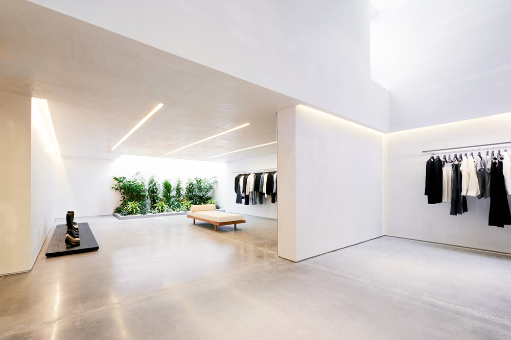 Helmut Lang Store Los Angeles