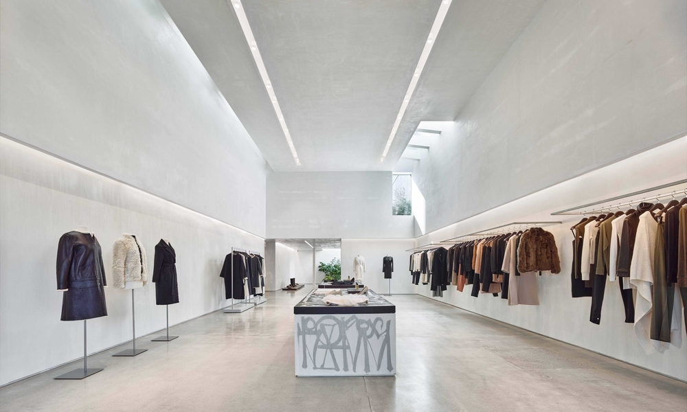 Helmut Lang Store, West Hollywood
