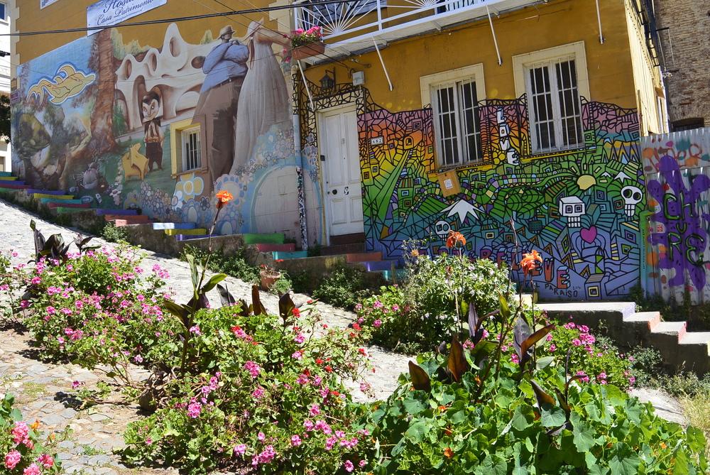 Valparaiso Chile Street Art Graffit