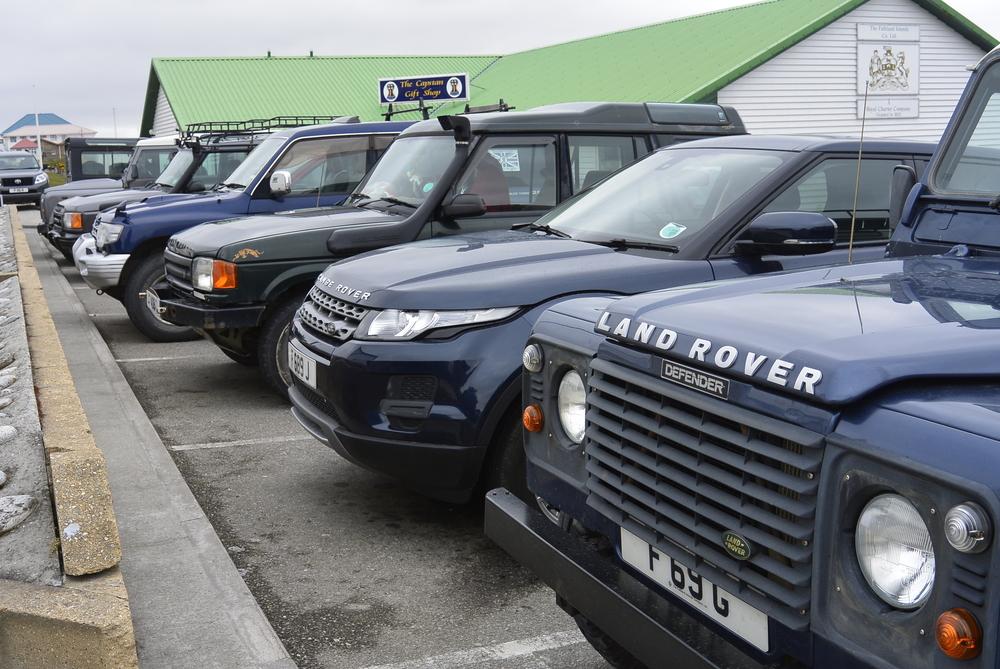 Stanley Falkland Islands Land Rover